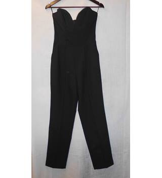Miss Selfridge - Size: 8 - Black - Jumpsuit