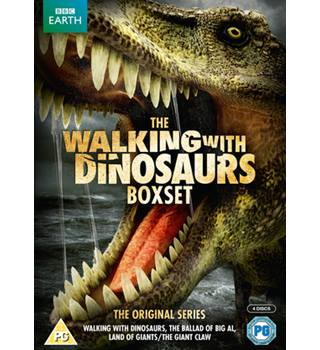 BBC Earth THE BIG DINOSAUR BOX including Walking With Dinosaurs and The Ballad of Big Al PG