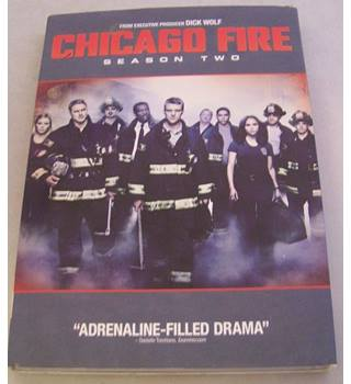 CHICAGO FIRE SEASON TWO 5 DVDs - REGION 1 Not rated