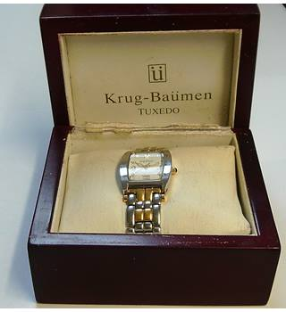 Krug-Baumen metallic watch