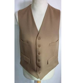 Merage vintage waist coat 100% wool size small Merage - Size: S - Beige - Jacket