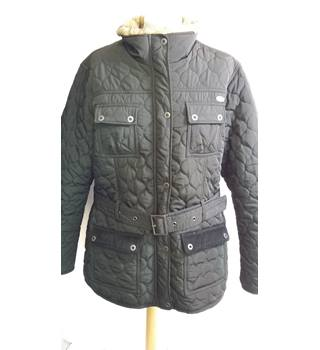 Fire Trap size 20 quilted Jacket with belt black Fire Trap - Size: 20 - Black - Jacket