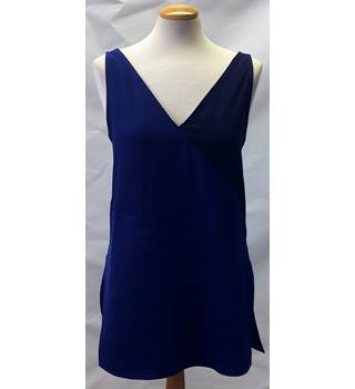 BNWT M&S Size 6 Blue Sleeveless Top