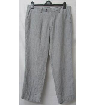 "M&S Marks & Spencer - Size: 36"" - Grey - Trousers"