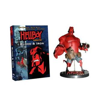 Hellboy Animated, Blood & Iron Action Figure & DVD HellBoy