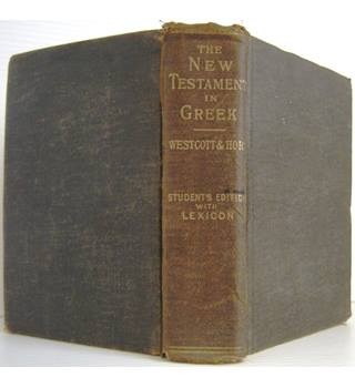 The New Testament in the Original Greek / Greek-English Lexicon