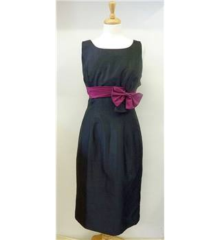 BNWT Bella Rosa size 14 black and purple shift dress. Bella Rosa - Size: 14 - Black