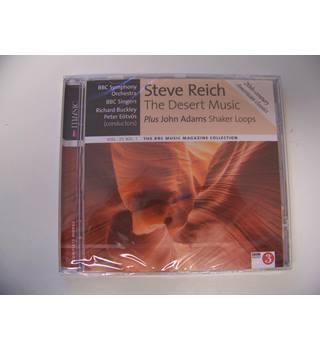 Steve Reich : The Desert Music plus John Adams : Shaker Loops