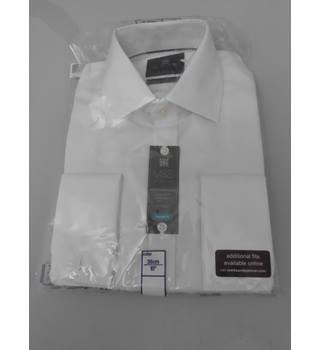 "M&S Collection Size 16""Collar White Shirt"