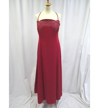 John Charles Collection - Size: 22 - Red - Long dress