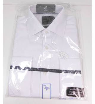 "M&S Collection Size 15"" Collar White Shirt"