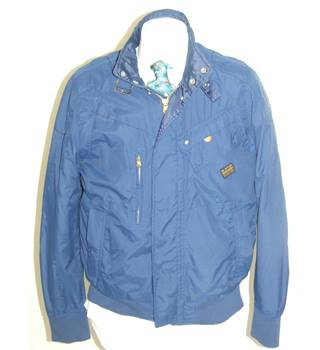50% OFF SALE G-Star Mens Blue S Bomber Style Jacket G-Star Raw - Size: XL - Blue - Bomber jacket