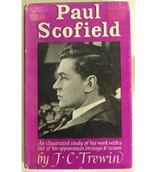 Paul Scofield : Theatre World Monograph No. 6: signed by Paul Scofield