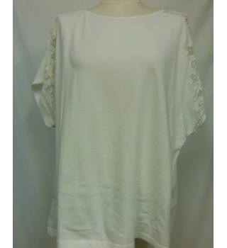Women's Top Per Una - Size: 18 - Cream / ivory