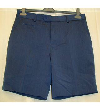 "BNWT ASOS  Size W: 32"" French blue smart mid length shorts"