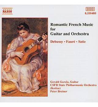 ROMANTIC FRENCH MUSIC FOR GUITAR AND ORCHESTRA Gerald Garcia (guitar)