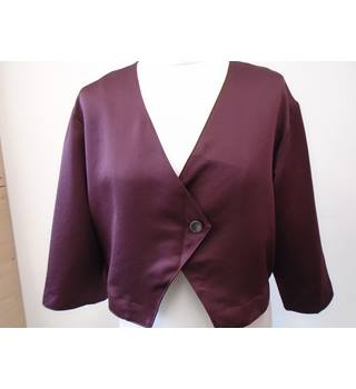 Limited Edition Cropped Evening Jacket - Size: 16