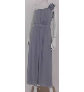 Dessy Girl Size 12 -13 Years Grey Occasion Dress