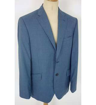 "BNWT Viyella  Size: L, 42"" chest, tailored fit Pale Blue Smart/Stylish Italian Wool Single Breasted Jacket"