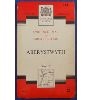 Ordnance Survey One-Inch Map Series: Aberystwyth - Sheet 127