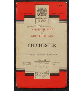 Ordnance Survey One-Inch Map Series: Chichester - Sheet 181