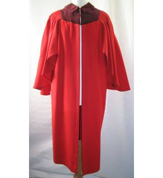 Vintage ?1960's St Andrews red gown.