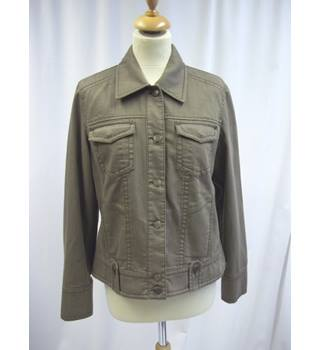 Olsen - Size: 14 - Brown - Casual jacket / coat