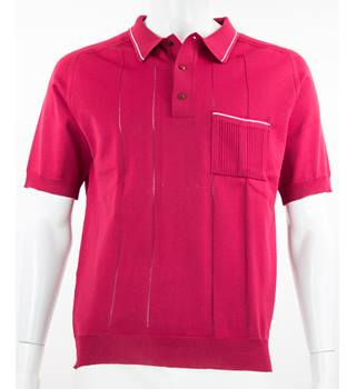 VINTAGE Count Christie - Size: M - Garnet Red -  Polo shirt