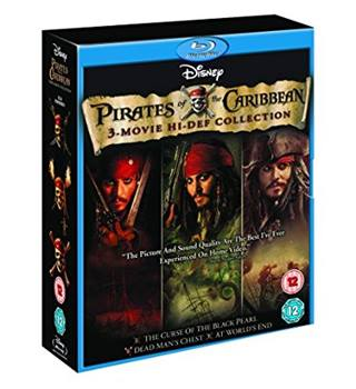 Pirates of the Caribbean Trilogy [Blu-ray] 12