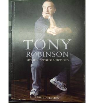Tony Robinson-My Life in Words and Pictures(SIGNED COPY)