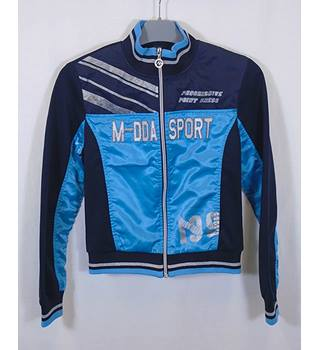 M Mandida Size Medium Blue Tracksuit top