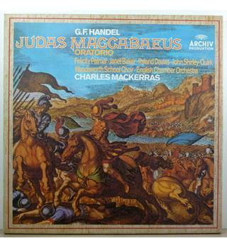 Händel - Judas Maccabaeus Oratorio - English Chamber Orchestra conducted by Sir Charles Mackerras, Janet Baker - 2723 050