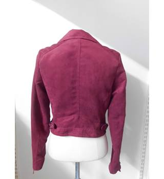 women's divided - Size: 6 - Red - Jacket