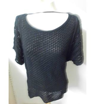 women's Atmosphere - Size: 8 - Black - Jumper