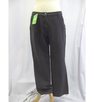 Olsen - Size: 16 - Brown - Trousers