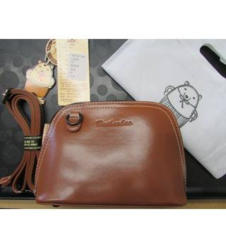 BNWT beibaobao - Size: 22 cm x 14 cm  - Cognac - Cross Body Bag