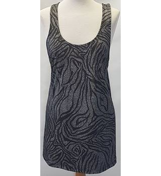 Topshop size 10 grey sleeveless top