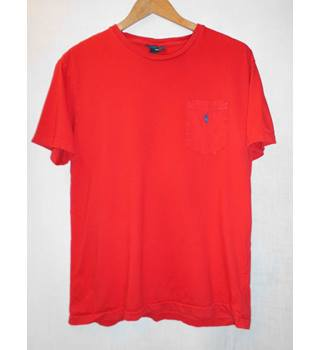 Ralph Lauren - Size: Small - Red - Short sleeved T-shirt