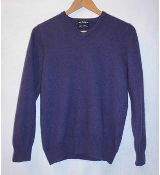 M&S Marks & Spencer - Size: Small - Purple - Jumper