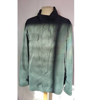 Men's Green Waterproof Coat M&S Marks & Spencer - Green - Raincoat
