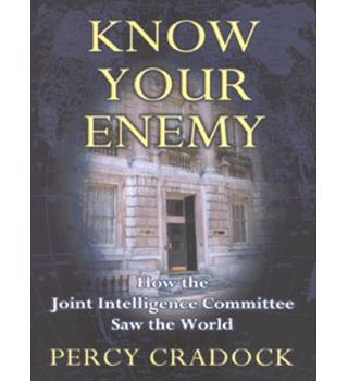 50% OFF SALE Know Your Enemy by Percy Cradock