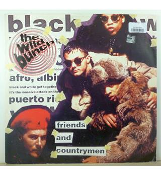 "The Wild Bunch ‎– Friends And Countrymen - 12"" Single - PRE-MASSIVE ATTACK - 12 BRW 98"