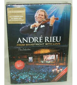 BNIB Andre Rieu: From Maastricht with Love - The Collection (Limited Edition) - Non-classified