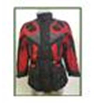 Triumph Motorcyclists Jacket - Size Small - Red/Black/Grey