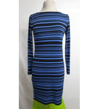 Michael Kors Striped Blue Dress Size XS Michael Kors - Size: XS - Blue - Short