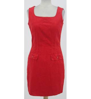 United Colors of Benetton - Size: 14 - Red Sleeveless Dress