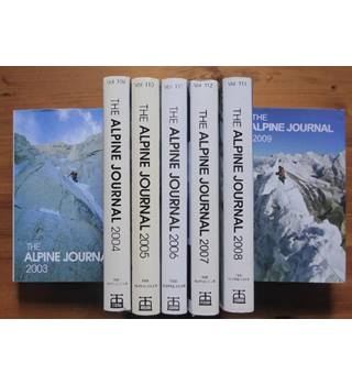 The Alpine Journal 2003 to 2009