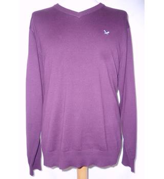 Crew Clothing Co - Size: M - Burgundy - Pullover