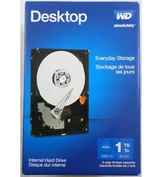 WD Desktop 1TBite Internal Hard Drive. WD
