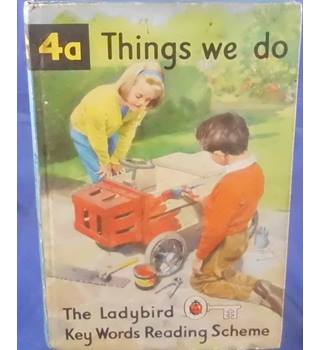 Things we Do - Ladybird Book